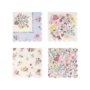 English Garden Large Napkins, perfect for bridal shower, tea party, garden party and more.  By Meri Meri, available at A Little Confetti.
