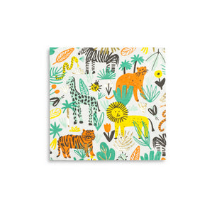 Into The Wild Safari Large Napkins - A Little Confetti