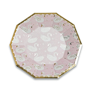 Sweet Princess Large Plates - A Little Confetti