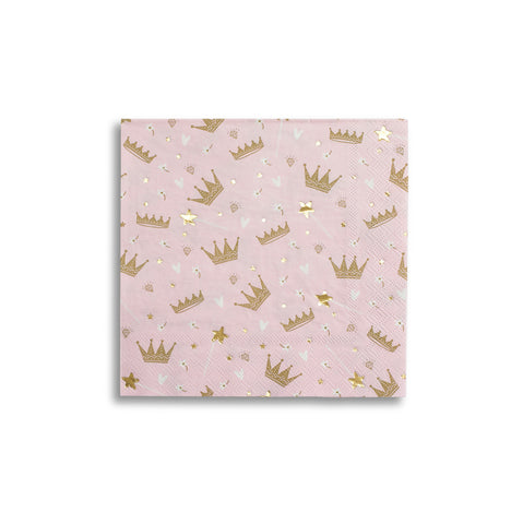 Sweet Princess Large Napkins - A Little Confetti