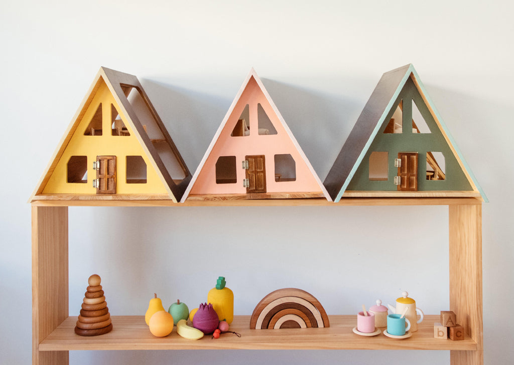 @justy_olive and the A-Frame Dolls House
