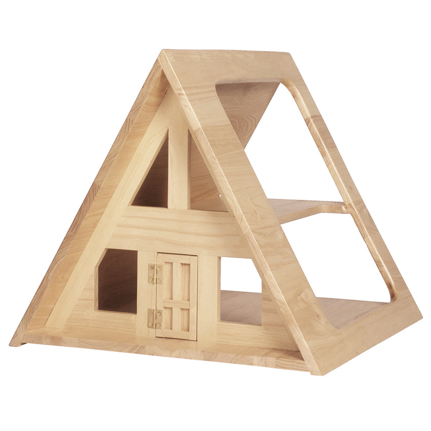 A-Frame Dolls House - Natural