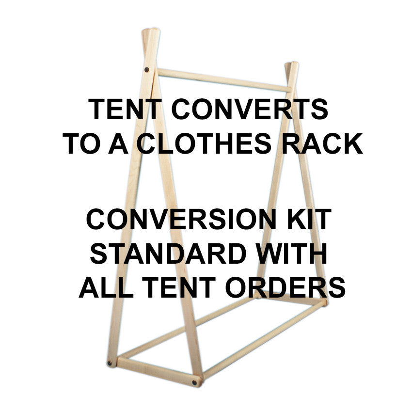 Dolls House Wonder Tent + Clothes Rack Conversion