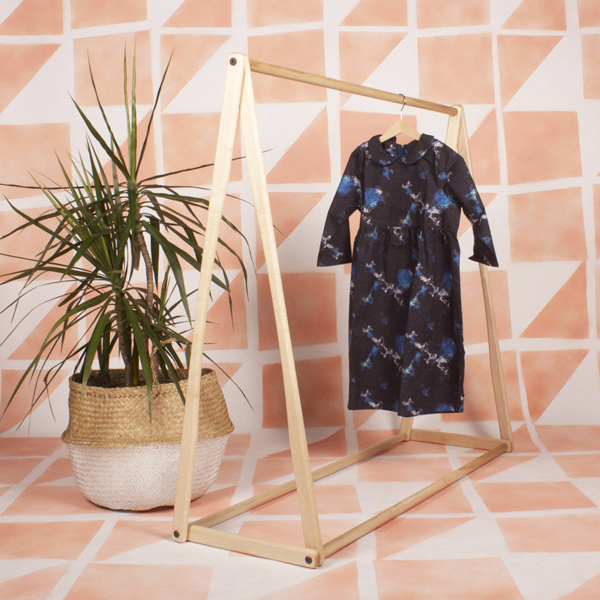 Children's Clothes Rack Variation - American Maple *Special Price*