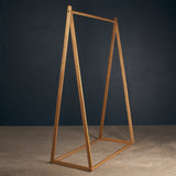 Adult's Clothes Rack - American Oak