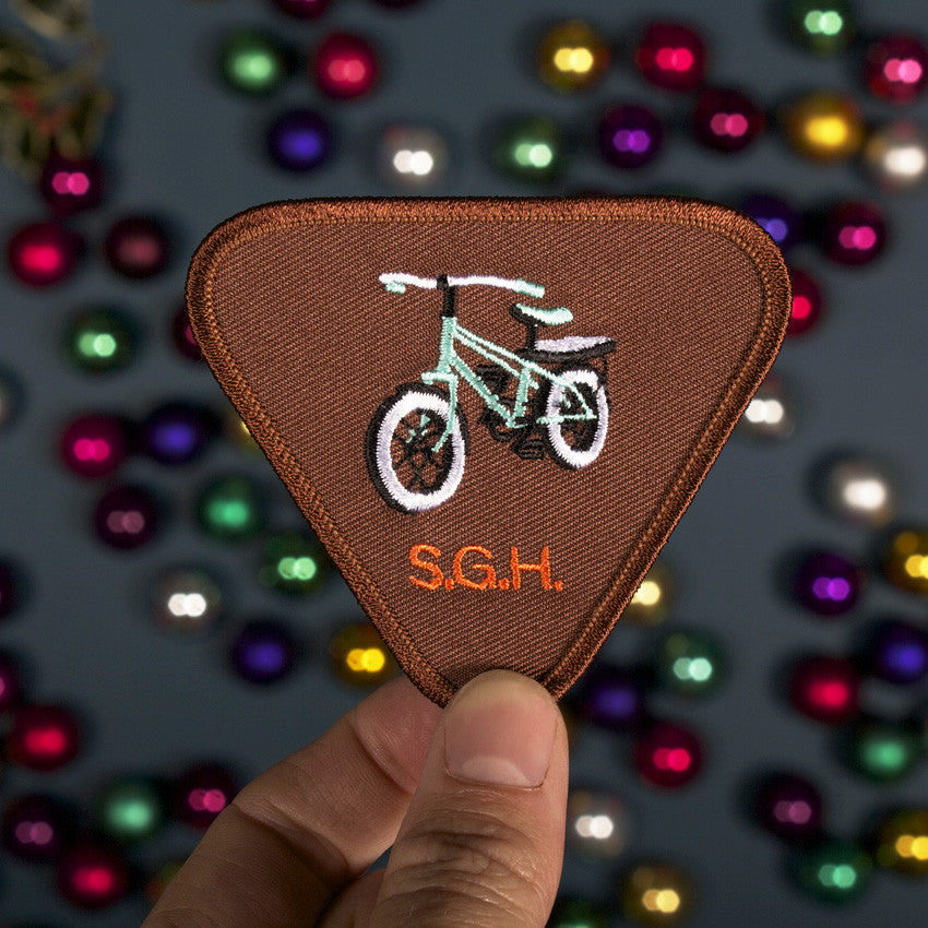 Bike Riding Patch