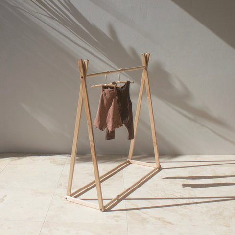 Children's Clothes Rack - American Maple