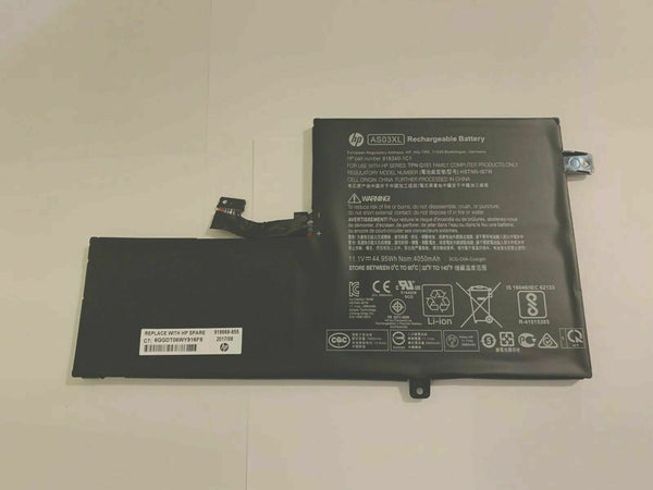 918669-855 AS03XL GENUINE HP BATTERY 11.1V 44.95WH CHROMEBOOK 11 G5 918340-1C1