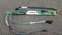 "667868-001 HP ProLiant DL360P G8 2.5""x8 Backplane w/Cable 654073 657196 654072"