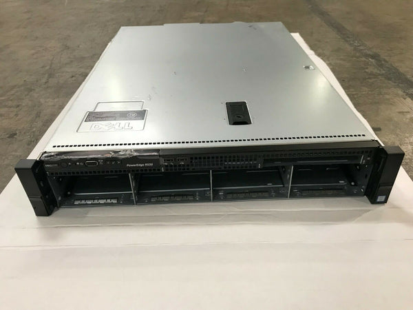 "DELL PowerEdge R530 3.5""x8 Bay Server Chassis BACKPLANE FAN Cooling Baffle N87CG"