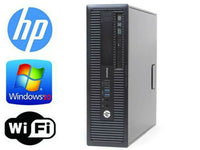 HP EliteDesk 800 G1 SFF/Intel i7-4790 3.6GHz 16gb RAM 256GB SSD Win 10 Pro WIFI