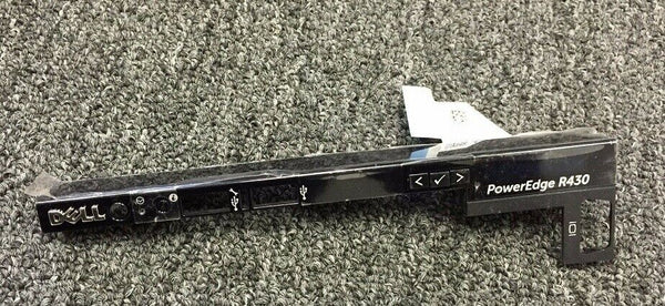 Genuine Dell PowerEdge R430 Front Control Panel Bezel 2WMC9 R0WJN