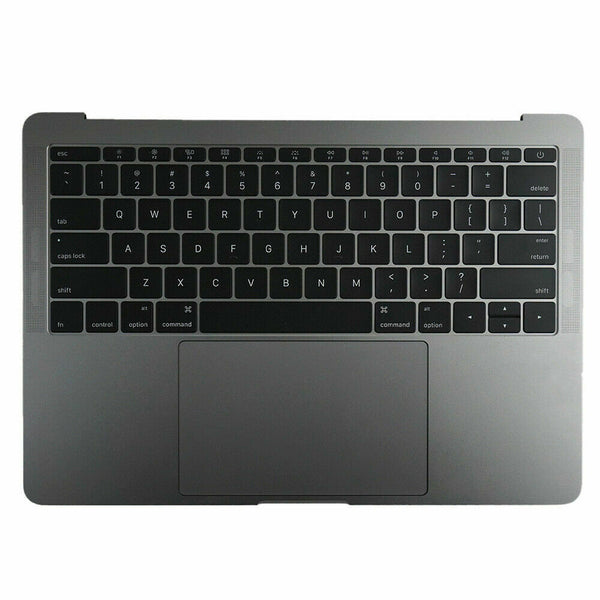 "Gray MacBook Pro 13.3"" A1708 2017 keyboard Battery A1713 Touchpad Top Case"