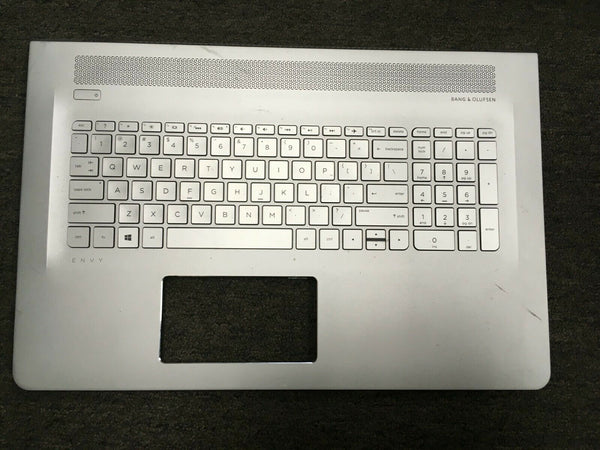 HP ENVY 15-AS 15AS Silver Palmrest Backlit Keyboard 857799-001 6070B1018801