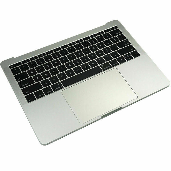 "Silver MacBook Pro 13.3"" A1708 2017 keyboard Battery A1713 Touchpad Top Case"