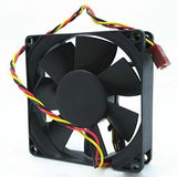 Cooler Fan DELL 390 DT P/N XMN4N EE80201S1-0000-G99 DC12V 1.56W 8020 3-Wire