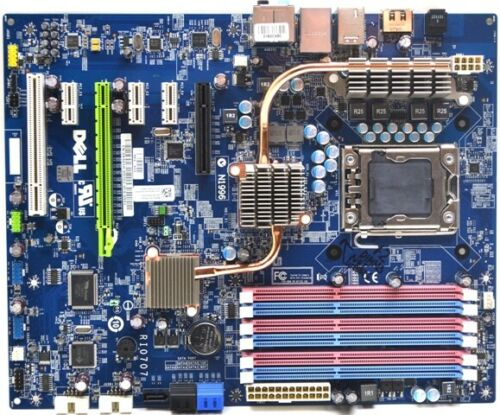 DELL Studio XPS 9000 9100 Motherboard Intel X58 LGA1366 DDR3 0X501H 05DN3X