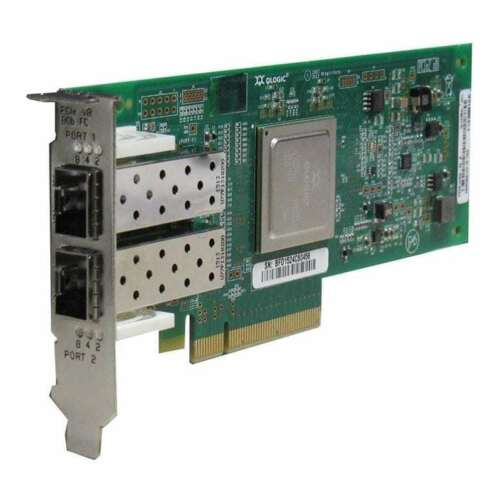 OEM Dell QLogic MFP5T QLE2562 8GB Dual Port FH Host Bus Adapter KV00H RW9KF