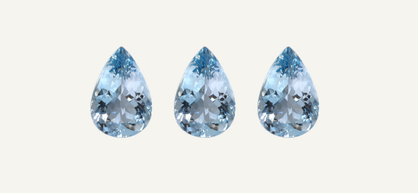 RUUSK Jewellery. March birthstone - Aquamarine