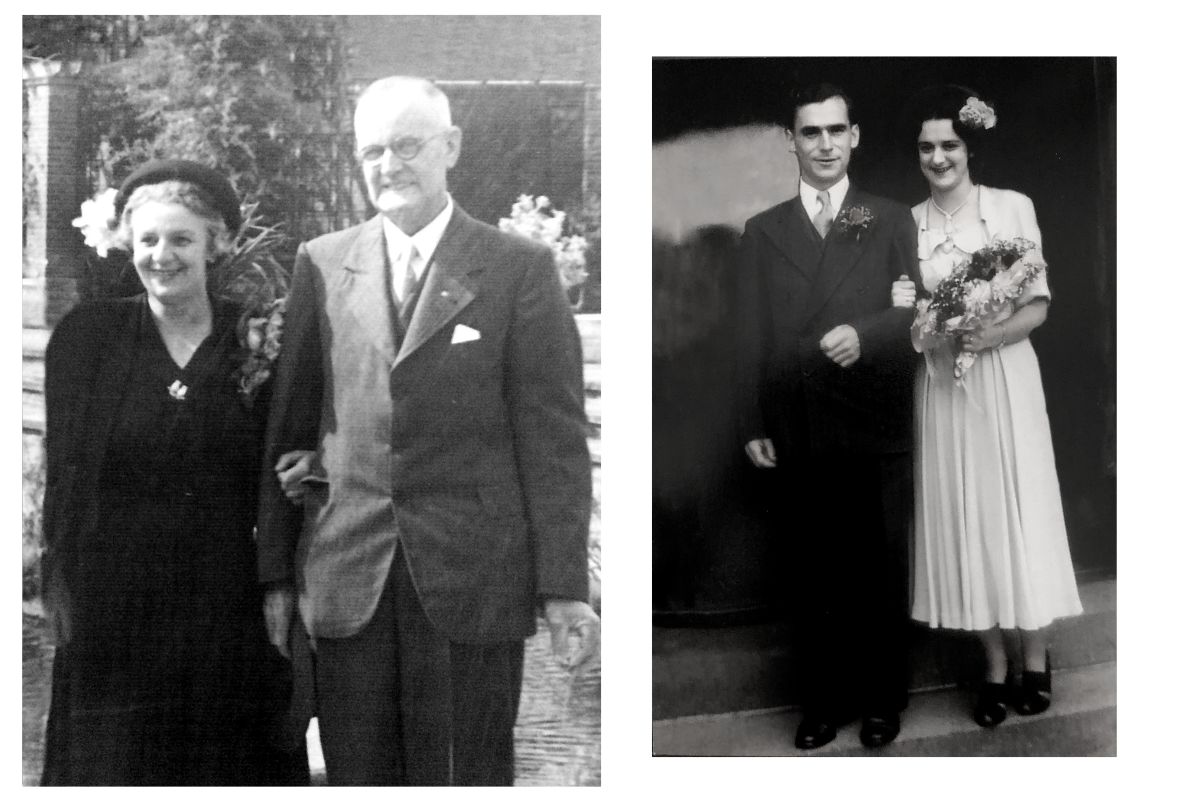 Jen's great grandparents. The original owners of the signet ring.