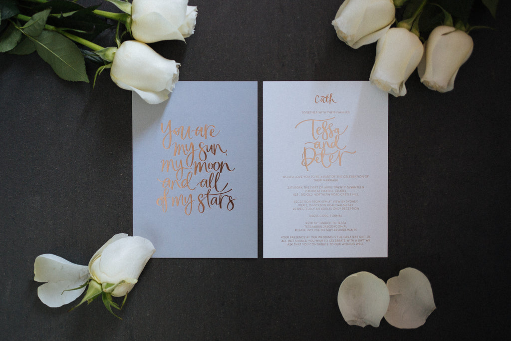 The Blackline by Lauren Hung Calligraphy Sydney
