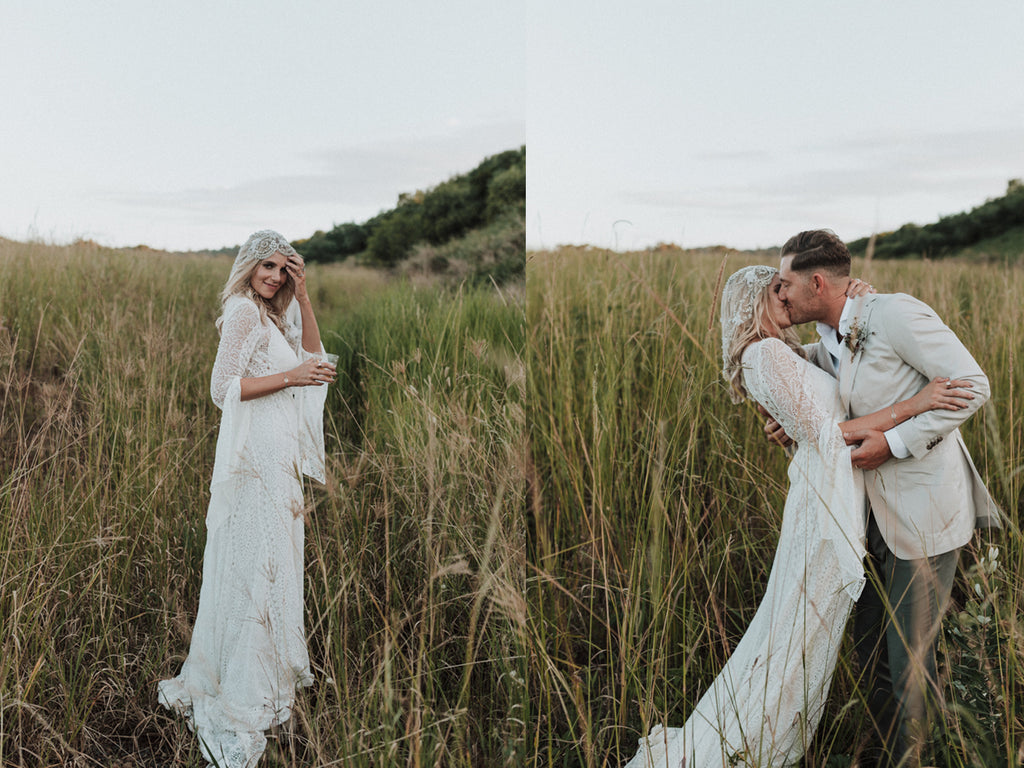 RUUSK couples - Tania and Mitch Byron Bay Wedding and wedding rings