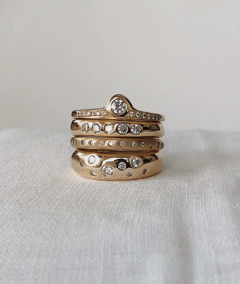 Cosmos Diamond ring