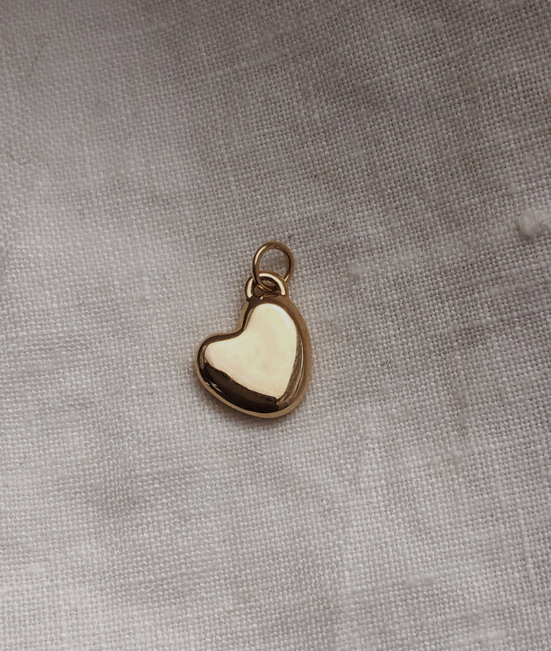 Heart of Gold Pendant (without chain)