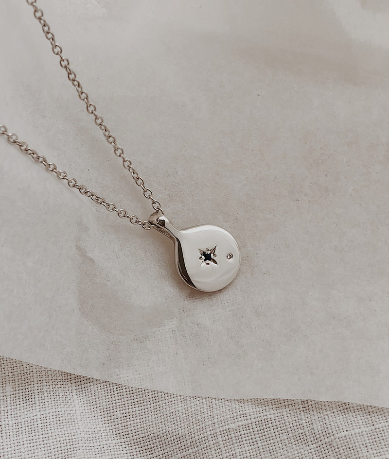 Mini Moon True North necklace