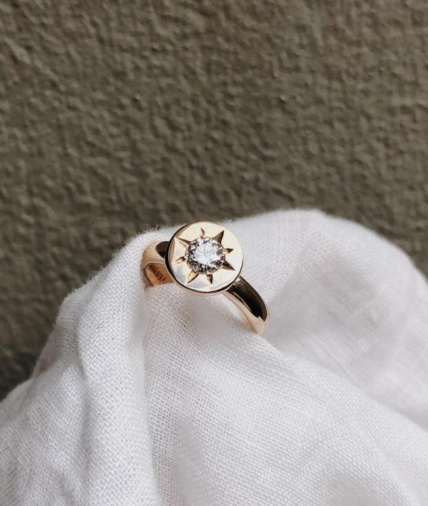 0.5ct Stellar Solitaire Ring