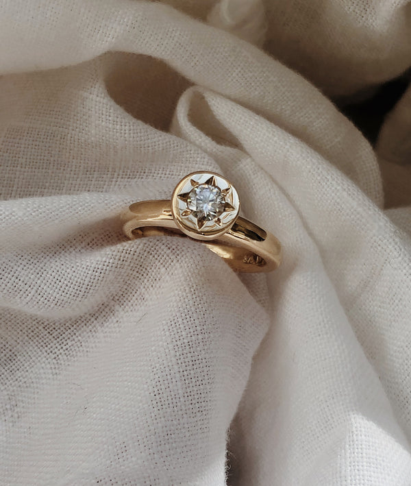 0.25ct Mini Stellar Solitaire Ring