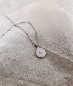 White Gold True North necklace