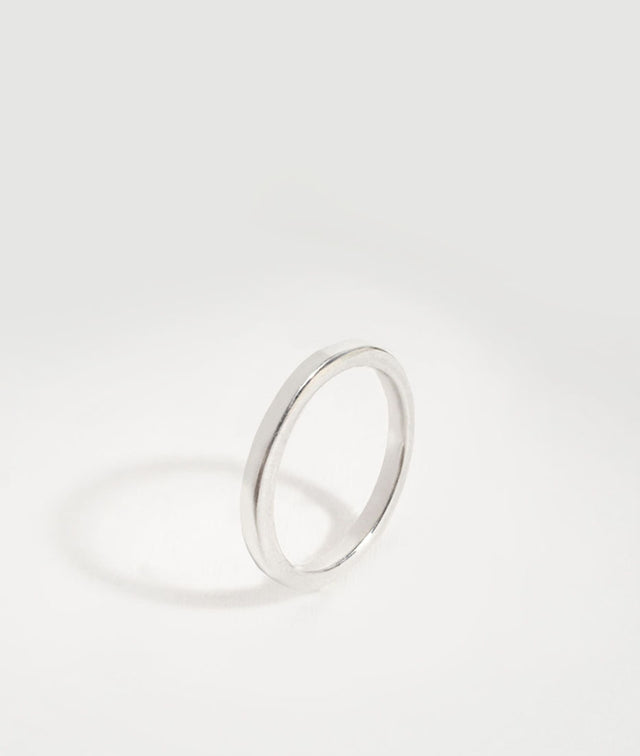 White Gold XS Square ring
