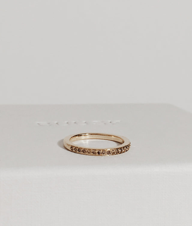 Yellow Gold XS Square ring
