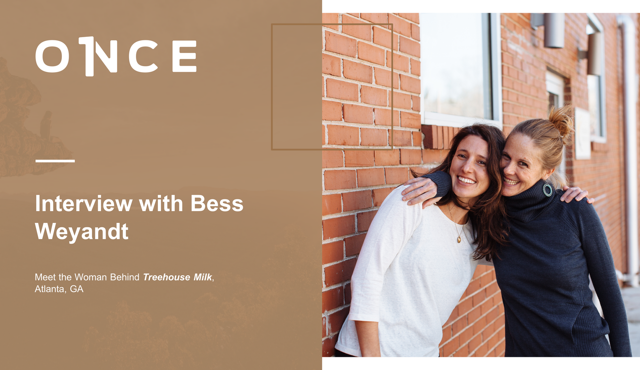 Image introducing interview with Bess of Treehouse Milk