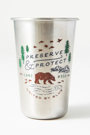 Preserve and Protect 16 oz. Stainless Steel Tumbler