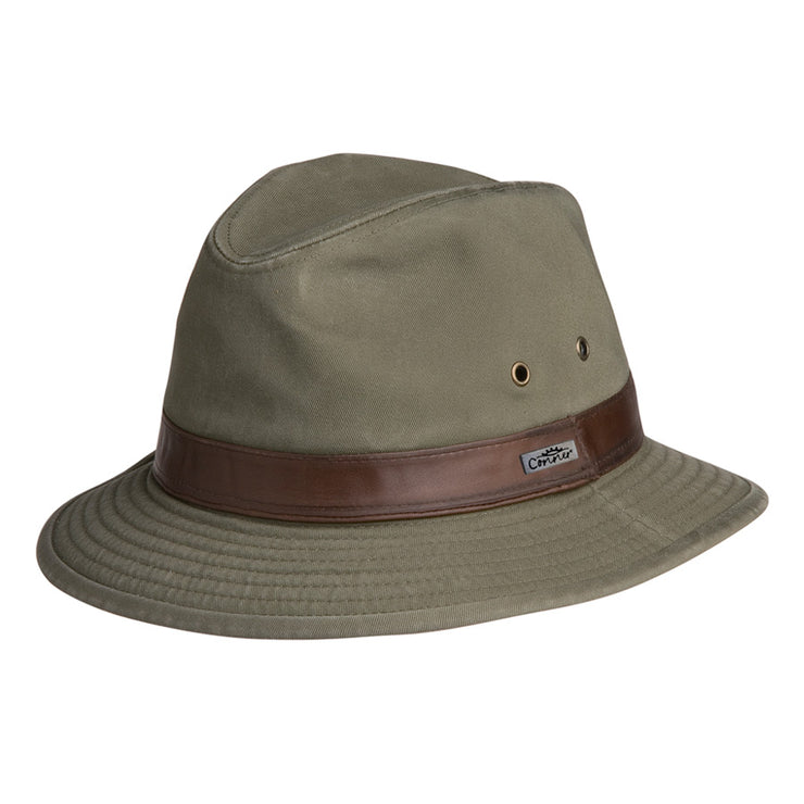 Larimer Mens Cotton Safari Hat