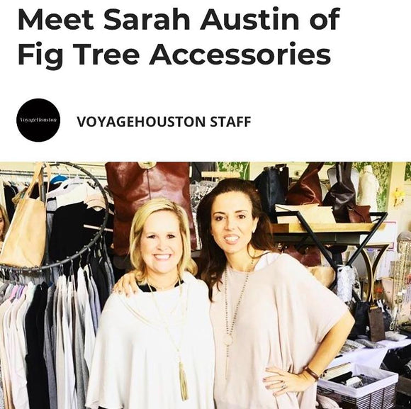 Fig Tree Featured in Voyage Houston Magazine this month
