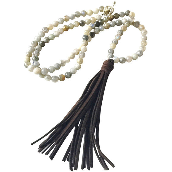 Bennett Tassel Long Necklace-Fig Tree Jewelry & Accessories