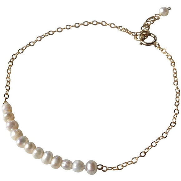 Addie Pearl Beaded Bracelet