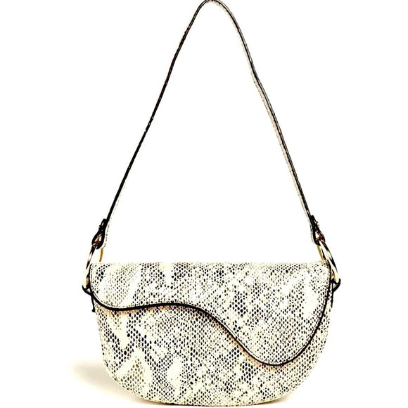 Kira Snake Shoulder Handbag Street Level-Fig Tree Jewelry & Accessories
