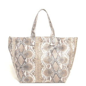 Leata Snake Shoulder Buckle Handbag Street Level
