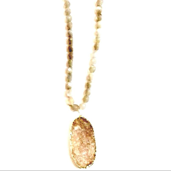 Adele Druzy Long Necklace