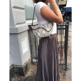 Kira Snake Shoulder Handbag Street Level