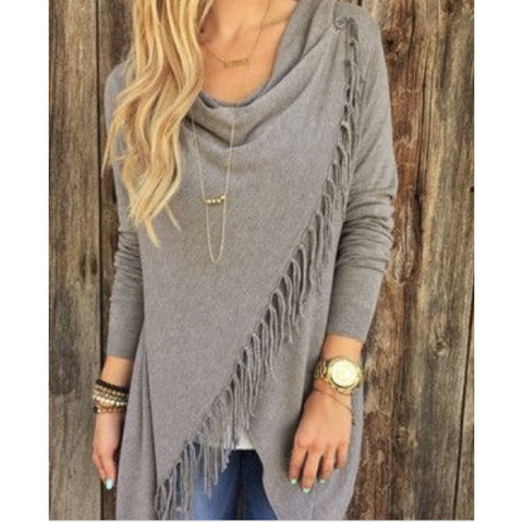 A Carys Fringe Lovestitch Sweater