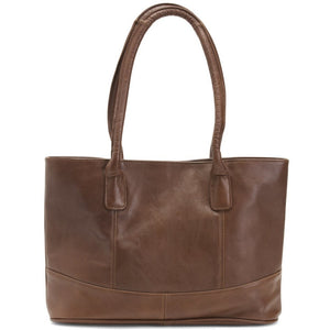 Chloe Brown Leather Tote Handbag