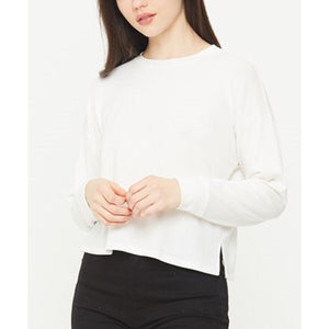 Chelsea Ivory Cropped Crew Neck