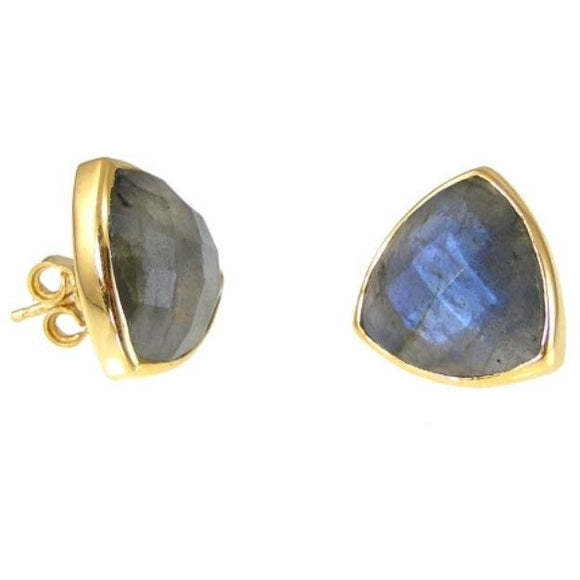 Abare Stone Stud Earrings