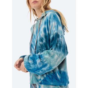 Thea Tie-Dye Lovestitch Hoodie I-11447K-PHG-AF-Fig Tree Jewelry & Accessories