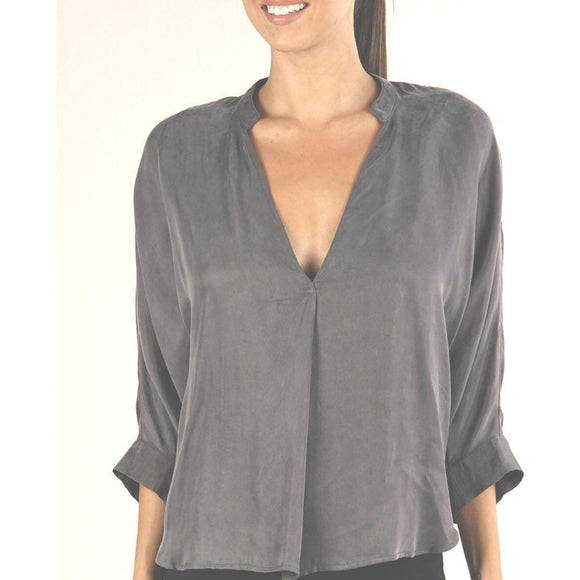 Anya Grey Open Sleeve  Lovestitch Top